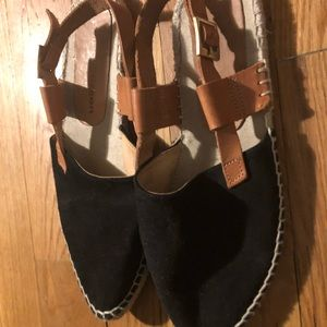 Patricia Green espadrilles style sandals sz 8